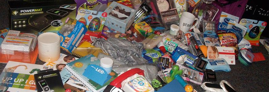 Donații de materiale
