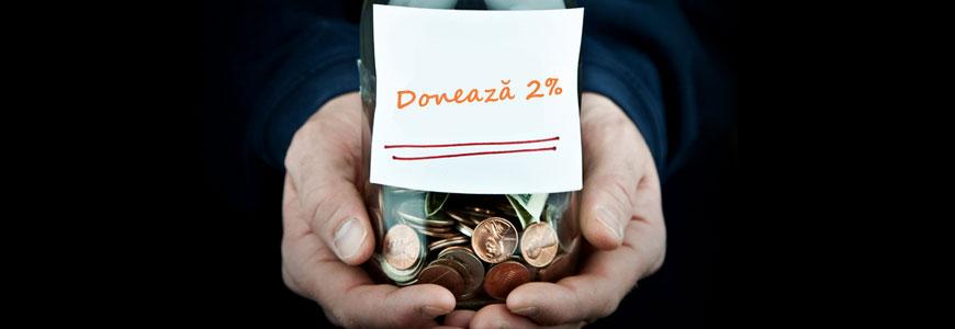 Donează 2%